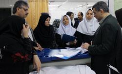 بازدید سر زده قائم مقام و معاون کل وزیر بهداشت از بیمارستان بهشتی