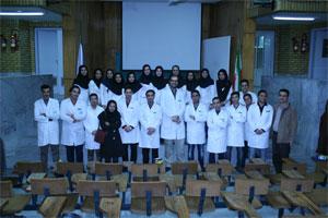 جشن روپوش سفید در دانشگاه علوم پزشکی کاشان