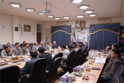 نشست شورای سلامت و امنیت غذایی شهرستان کاشان