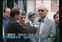 بازدید وزیر بهداشت از بیمارستان متینی کاشان