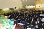 مراسم جشن دانشجویان جدیدالورود دانشگاه کاشان